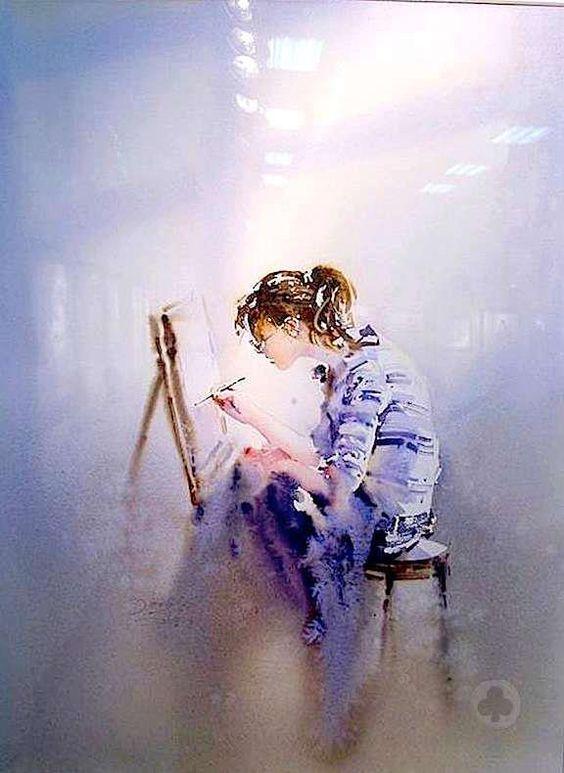 """""""Une peinture pour rêver, voyager, s'émouvoir ...  - Page 2 D3850f10"""