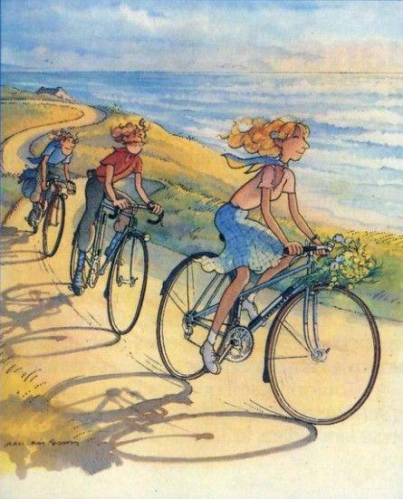 A bicyclette ... D89d7310