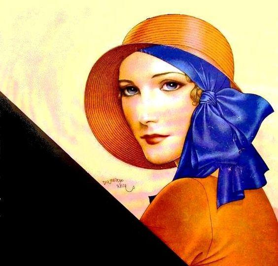 """Des élégantes  """"chapeautées"""" ... - Page 24 D9046510"""