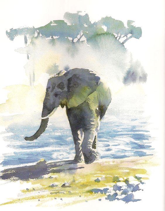 Les animaux peints à l'AQUARELLE - Page 11 Dd35ac10