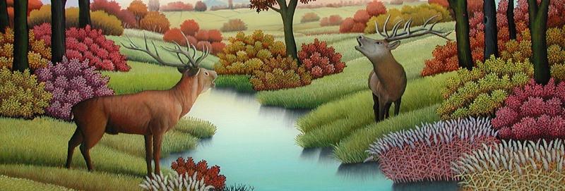 L'eau paisible des ruisseaux et petites rivières  - Page 22 Deer-b10