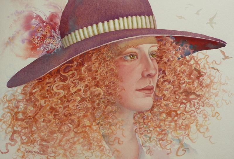 """Des élégantes  """"chapeautées"""" ... - Page 19 Dianne10"""