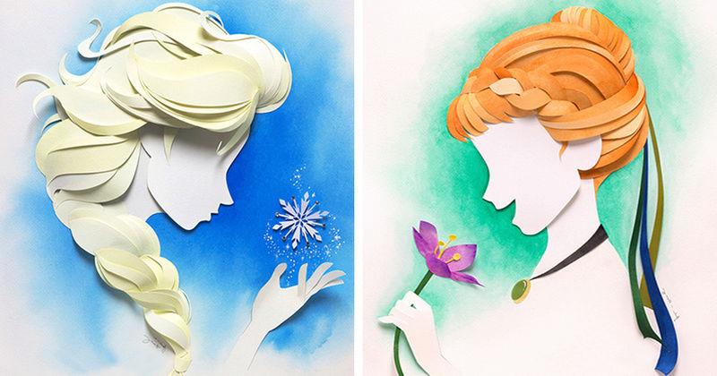 Le papier et ses merveilles  - Page 16 Disney10