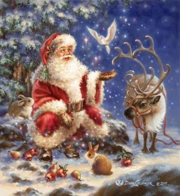 La Magie de Noël ... Dona_g11