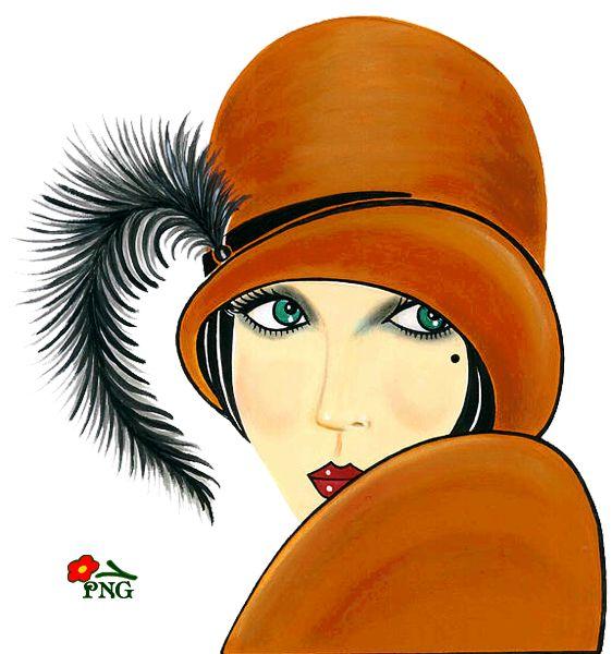 """Des élégantes  """"chapeautées"""" ... - Page 22 E03f1e10"""