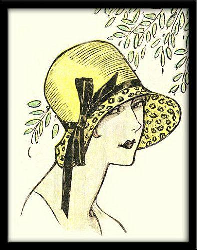 """Des élégantes  """"chapeautées"""" ... - Page 25 E0572610"""