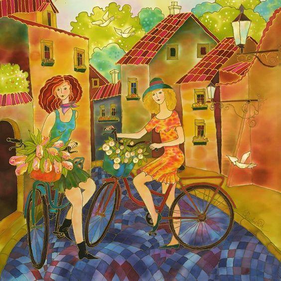 A bicyclette ... E1944f10