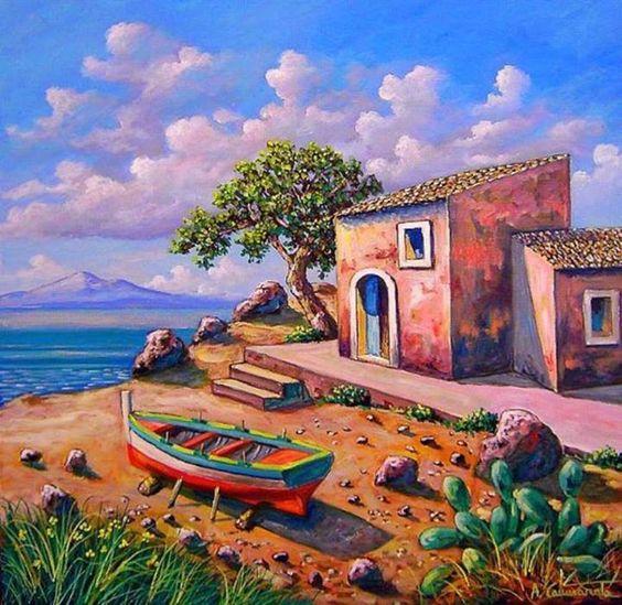 Tous les paysages en peinture. - Page 16 F1bee210