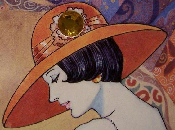 """Des élégantes  """"chapeautées"""" ... - Page 22 F3c7a110"""