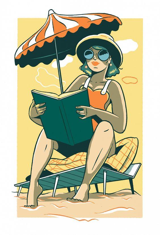 """Illustrations ... pour l'été ... Plage et """"farniente"""" ... - Page 21 F4468510"""