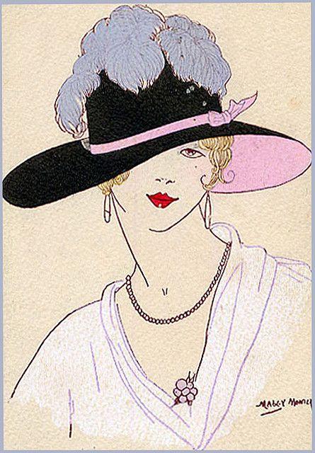 """Des élégantes  """"chapeautées"""" ... - Page 19 F5dd5610"""