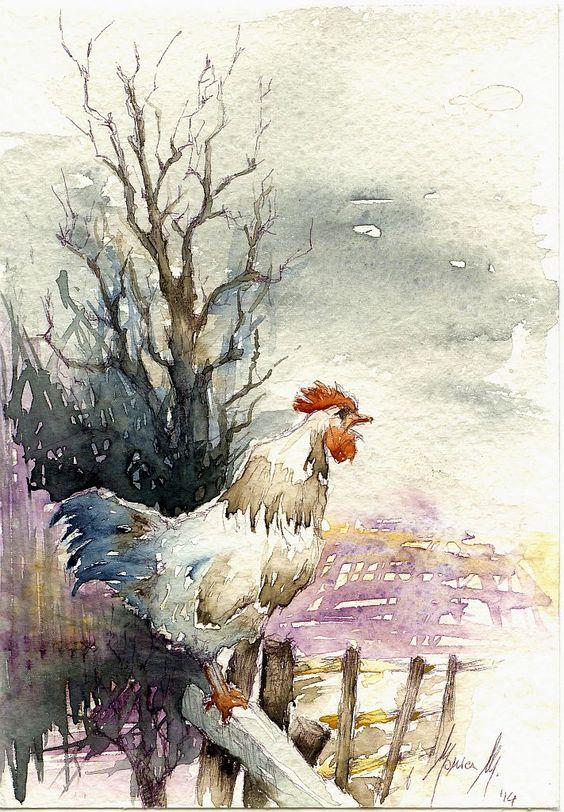 Les animaux peints à l'AQUARELLE - Page 16 F88ef910