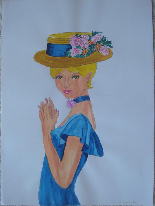 """Des élégantes  """"chapeautées"""" ... - Page 24 Fd740c10"""