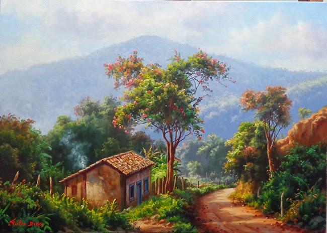 Tous les paysages en peinture. - Page 17 Feliz10