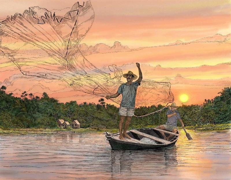 Au bord de l'eau. - Page 25 Fisher10