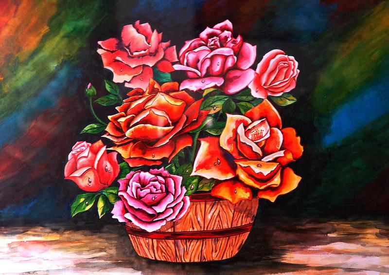 Le doux parfum des roses - Page 18 Flower12