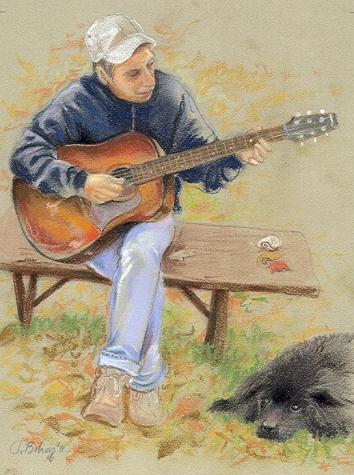 """"""" La Musique adoucit les moeurs """" ( Aristote ) - Page 16 Guitar12"""