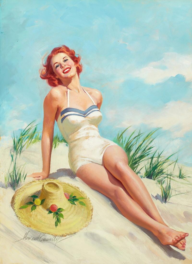 """Illustrations ... pour l'été ... Plage et """"farniente"""" ... - Page 20 Howard10"""