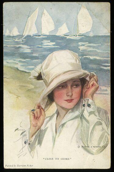 """Des élégantes  """"chapeautées"""" ... - Page 25 K07-1110"""