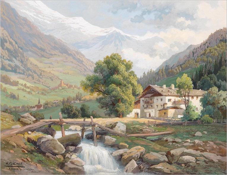 Tous les paysages en peinture. - Page 16 Karl-f10