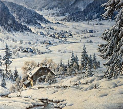 Tous les paysages en peinture. - Page 14 Karl-h10
