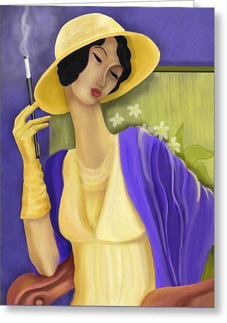 """Des élégantes  """"chapeautées"""" ... - Page 22 Lady-i11"""