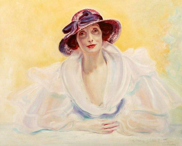 """Des élégantes  """"chapeautées"""" ... - Page 22 Lady-l10"""
