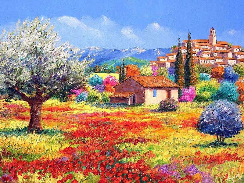 Tous les paysages en peinture. - Page 16 Landsc10