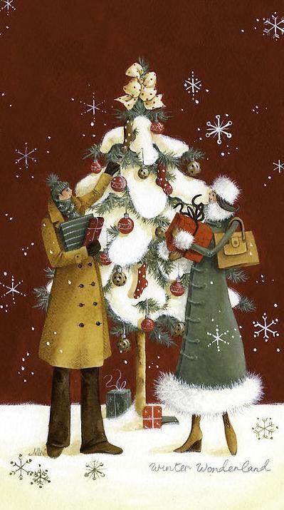 La Magie de Noël ... Maria_14