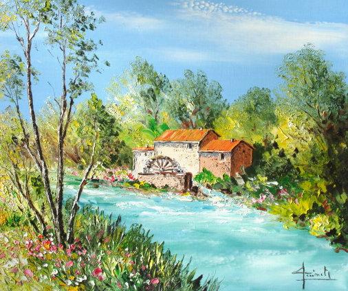 L'eau paisible des ruisseaux et petites rivières  - Page 22 Moulin10