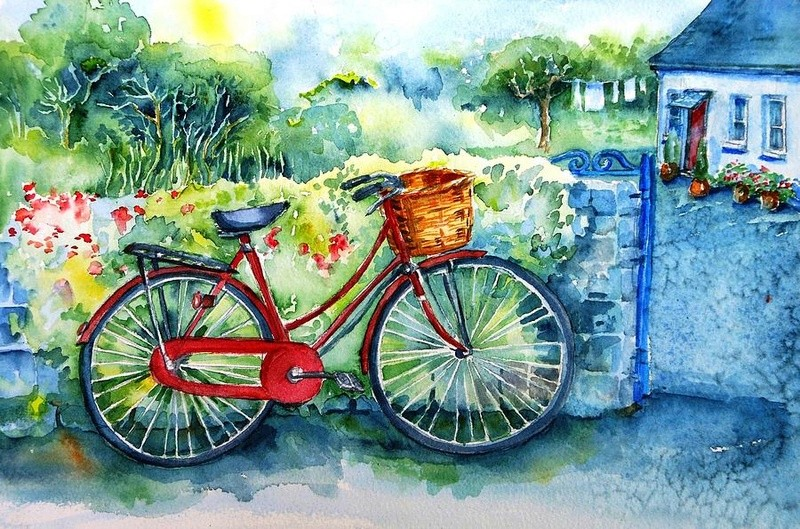 A bicyclette ... - Page 2 My-red10