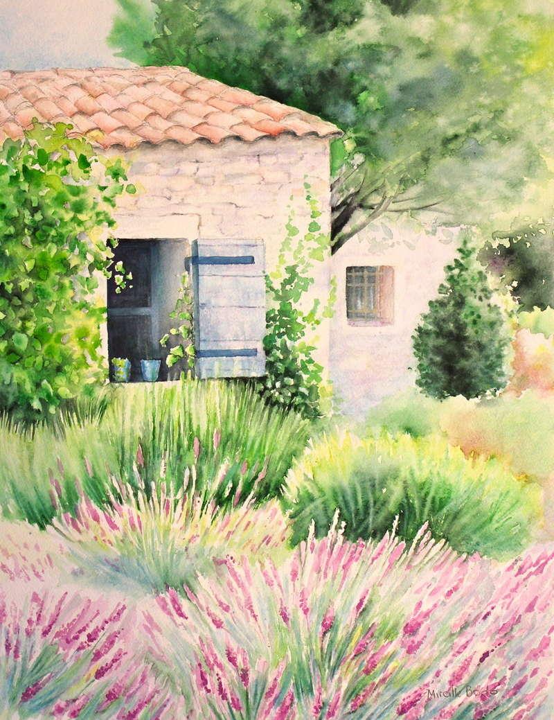 La provence. - Page 19 Peintu10