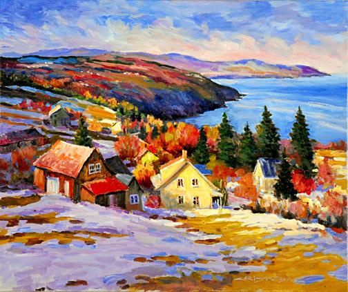 Tous les paysages en peinture. - Page 13 Privee10