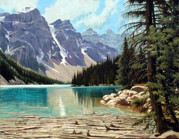Tous les paysages en peinture. - Page 15 Purple11