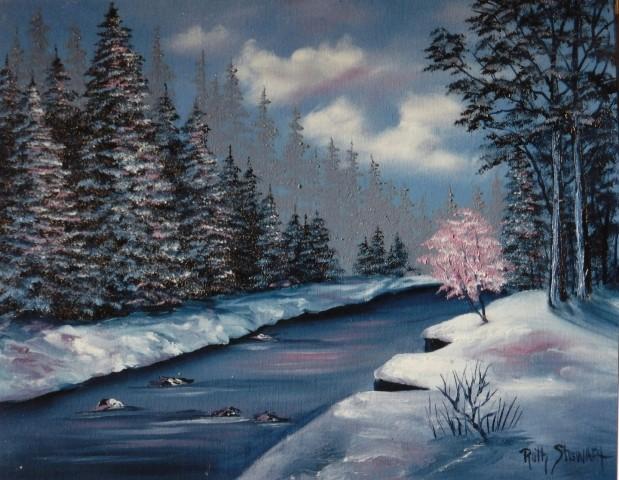L'eau paisible des ruisseaux et petites rivières  - Page 20 Snowy_11