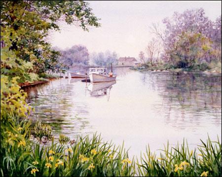 L'eau paisible des ruisseaux et petites rivières  - Page 22 Spring12
