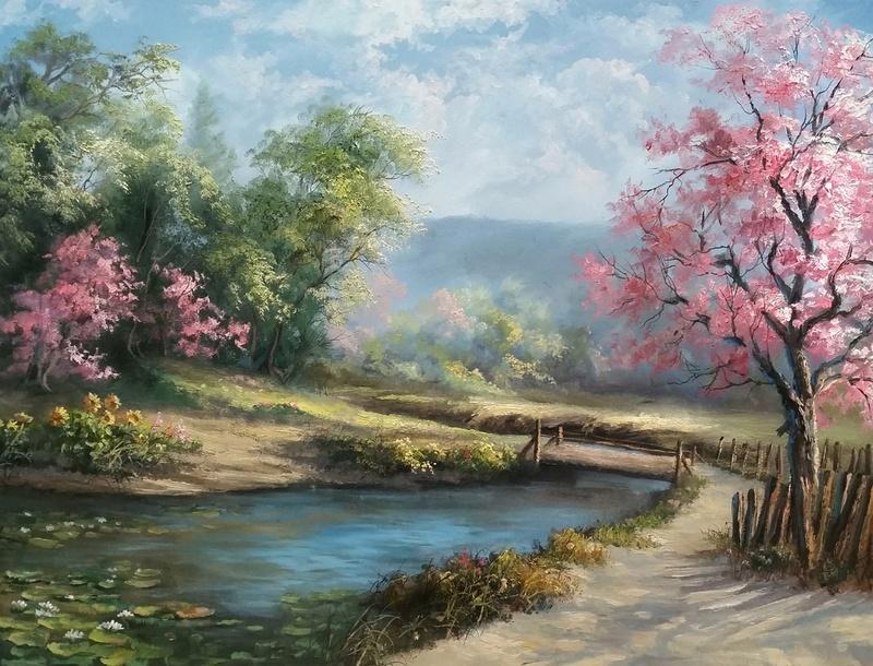 L'eau paisible des ruisseaux et petites rivières  - Page 22 Spring13