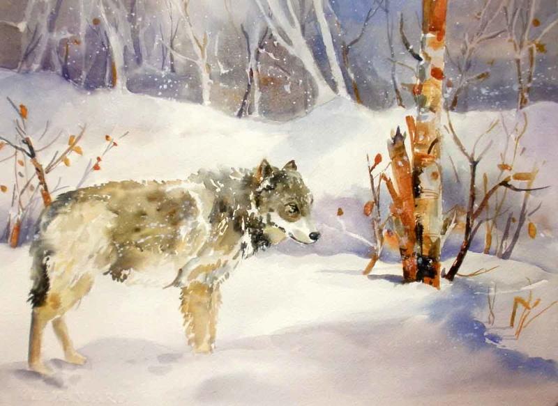 Les animaux peints à l'AQUARELLE - Page 14 Stilln10