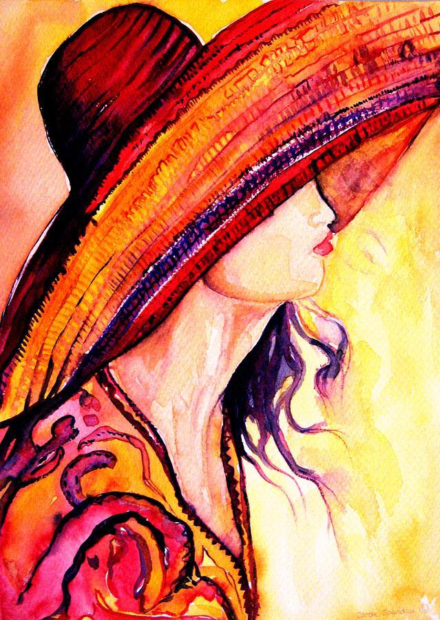 """Des élégantes  """"chapeautées"""" ... - Page 19 Summer14"""