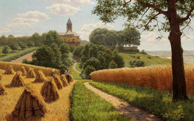 Tous les paysages en peinture. - Page 16 Summer18