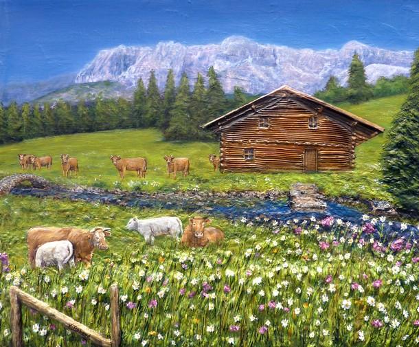 Tous les paysages en peinture. - Page 15 Tablea12