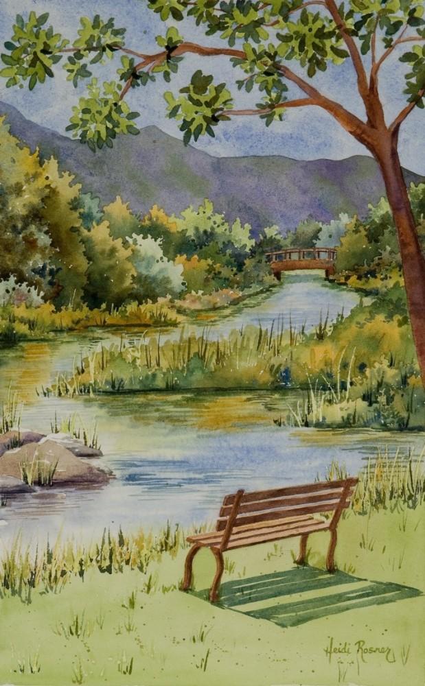 L'eau paisible des ruisseaux et petites rivières  - Page 22 The-ri10