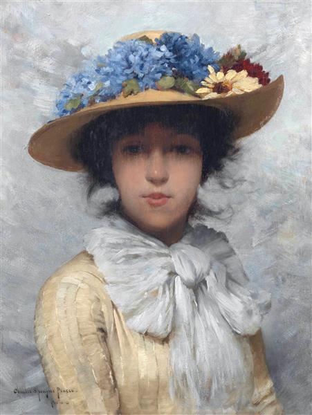 """Des élégantes  """"chapeautées"""" ... - Page 24 Tumblr48"""