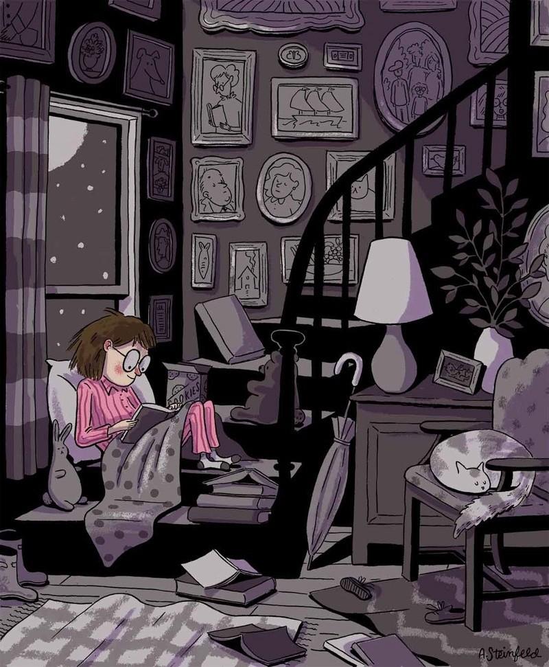 La lecture, une porte ouverte sur un monde enchanté (F.Mauriac) - Page 21 Tumblr91