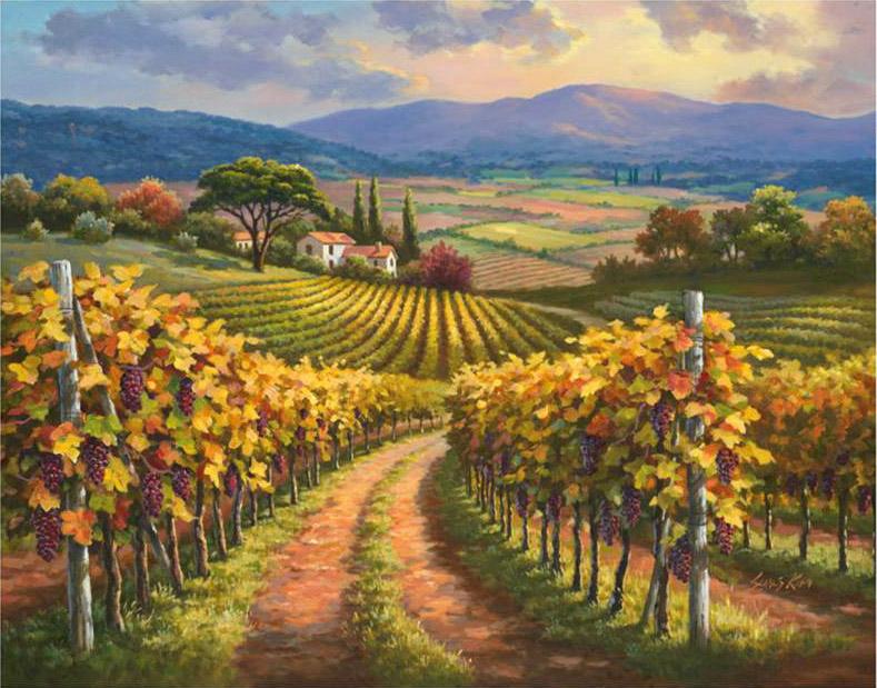 Tous les paysages en peinture. - Page 13 Vineya10