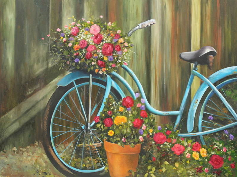 A bicyclette ... Vintag10