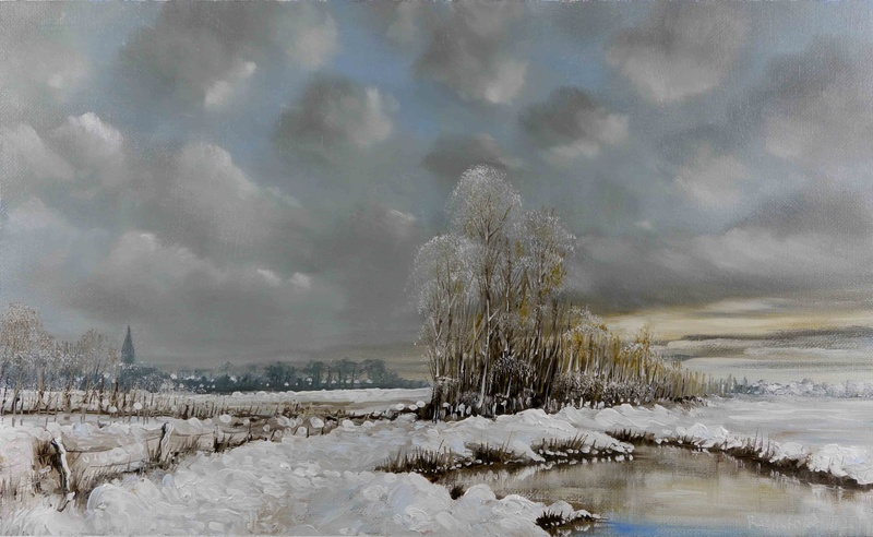 Tous les paysages en peinture. - Page 14 White-10