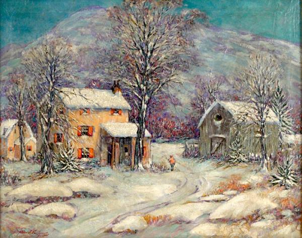 Tous les paysages en peinture. - Page 13 Winter10