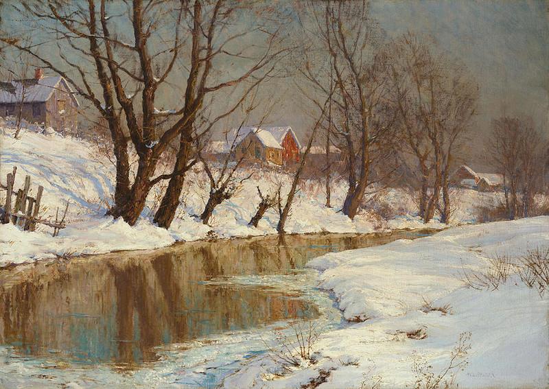 L'eau paisible des ruisseaux et petites rivières  - Page 20 Winter19