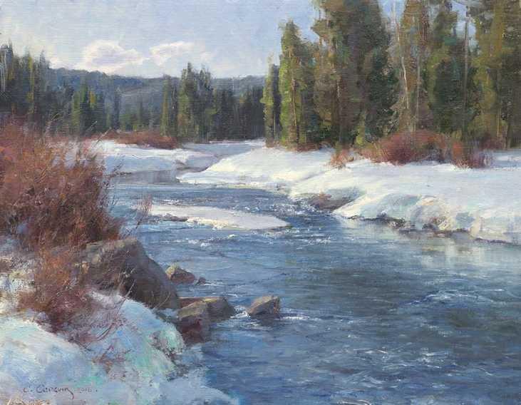 L'eau paisible des ruisseaux et petites rivières  - Page 20 Winter20